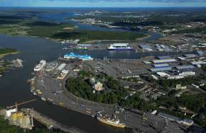 Development of the area - Port of Turku