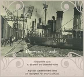 Port of Turku throwback thursday 2/52